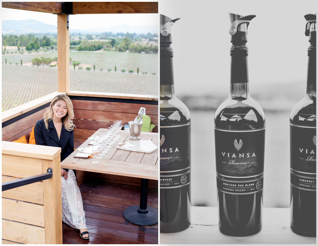 Best Wine Tasting Sonoma - Viansa Sonoma Winery