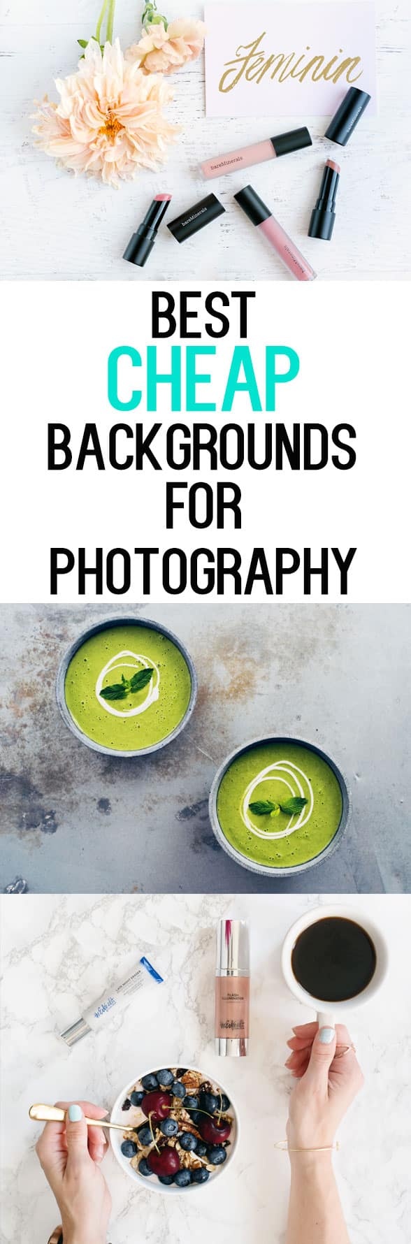 Best Cheap Backdrops for Photography - $25 or less!