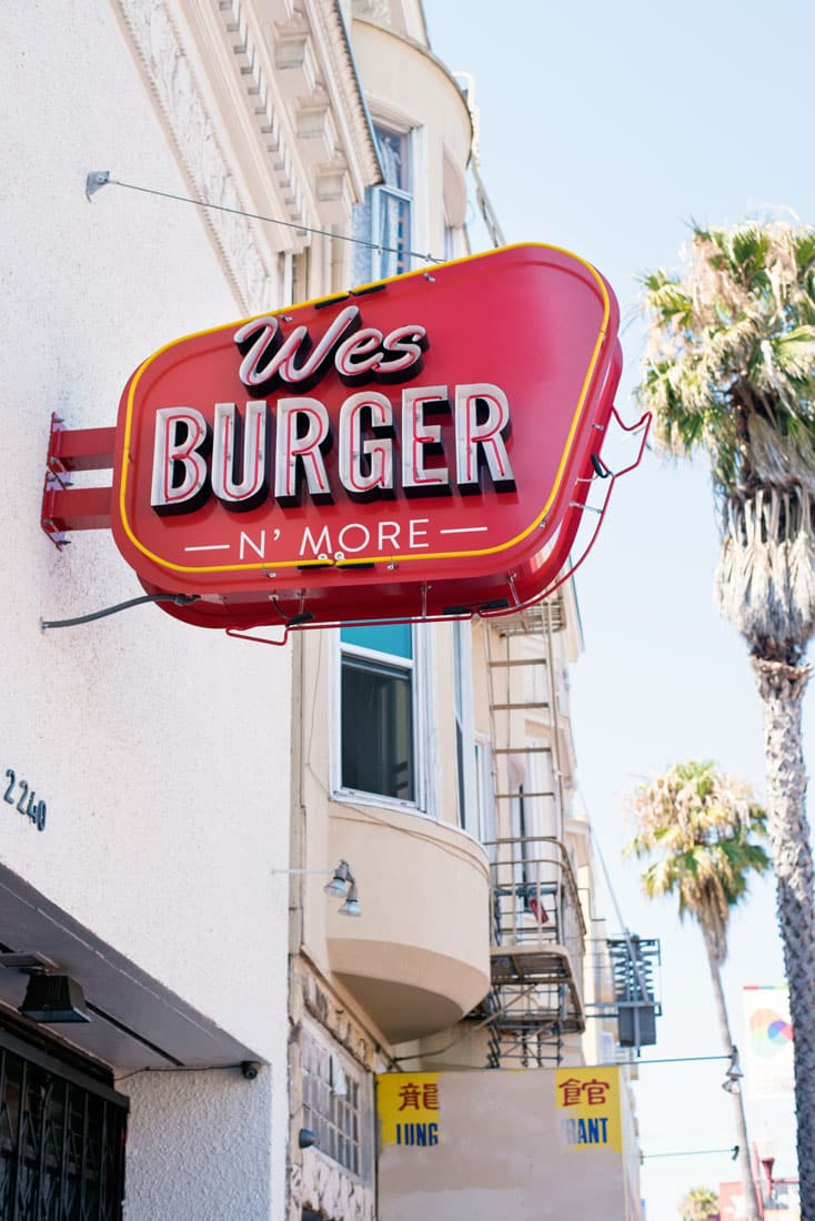 Best Burger in San Francisco - Wesburger n More Mission Neighborhood
