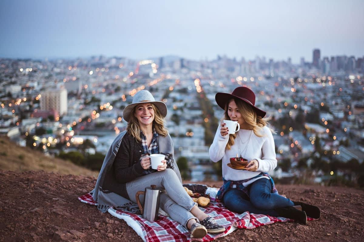 Best Scenic Views in San Francisco - Bernal Heights Peak Trail