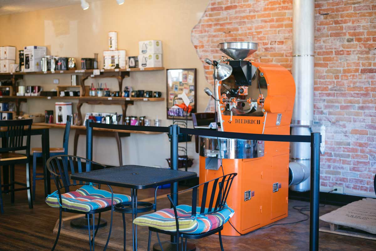 Big Creek Coffee Roasters Hamilton, Montana