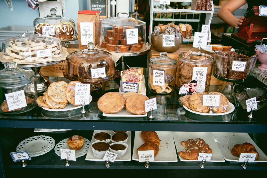 Best Coffee Shops and Bakeries in San Francisco - Cafe St. Jorge Bernal Heights