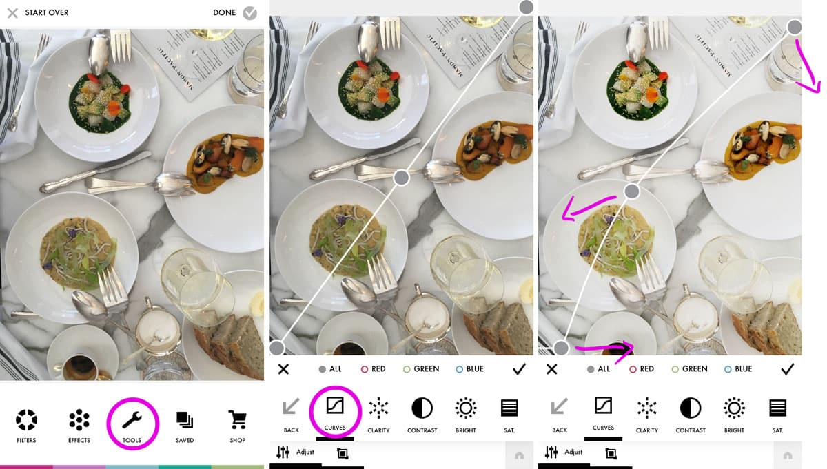 How to Edit Food Photos for Instagram with Free Apps