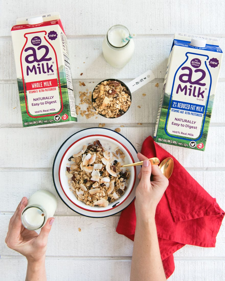 What is the difference between A2 Milk & Regular Milk, plus a Review!