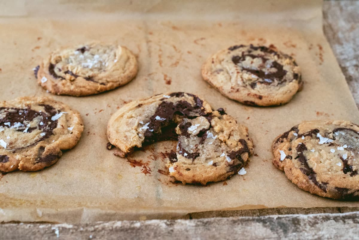NY Times + Jacques Torres Chocolate Chip Cookies - A Side of Sweet