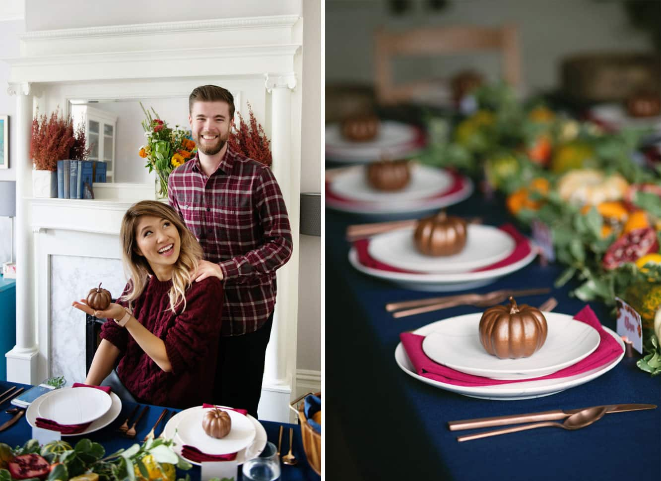 How to Host a Friendsgiving Dinner - Tips, Designs and Recipes