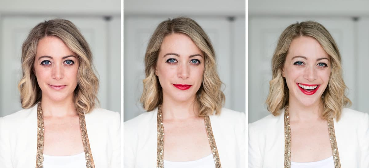 Choosing the Best Red Lipstick and Tinted Red Lip Balm - Review of Too Cool For School Glam Rock Lipstick in Bloody Kiss