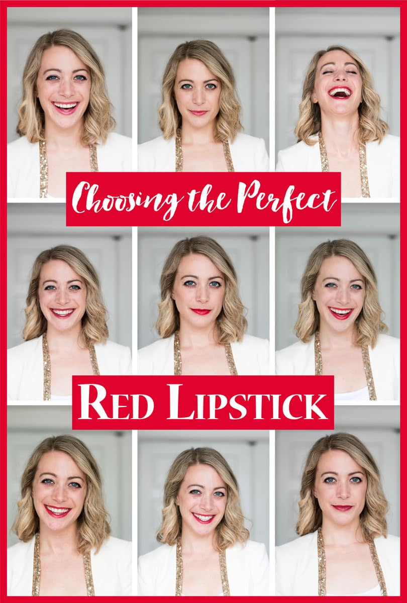 Choosing the Best Red Lipstick and Tinted Red Lip Balm + Reviews