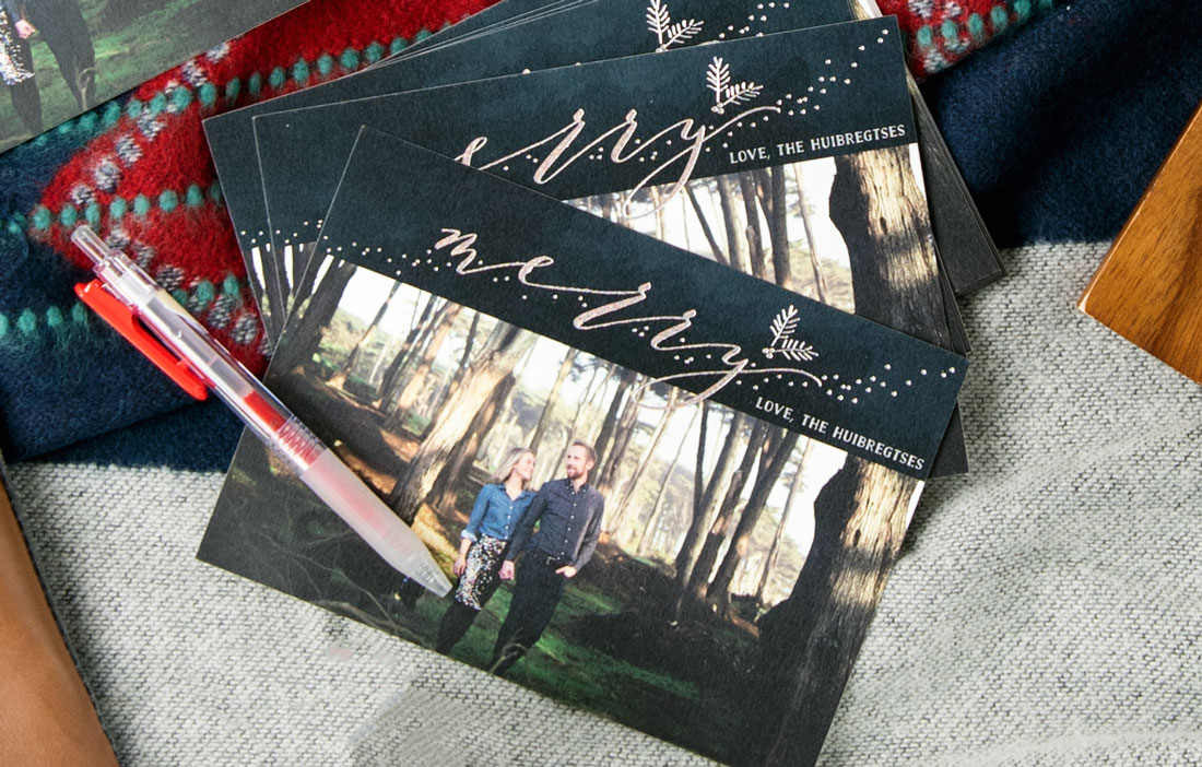 Best Christmas & Holiday Cards that Are Foil Pressed and High Quality - Minted Cards Review