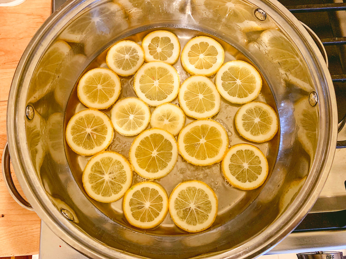 How to Make Candied Lemon Slices Recipe