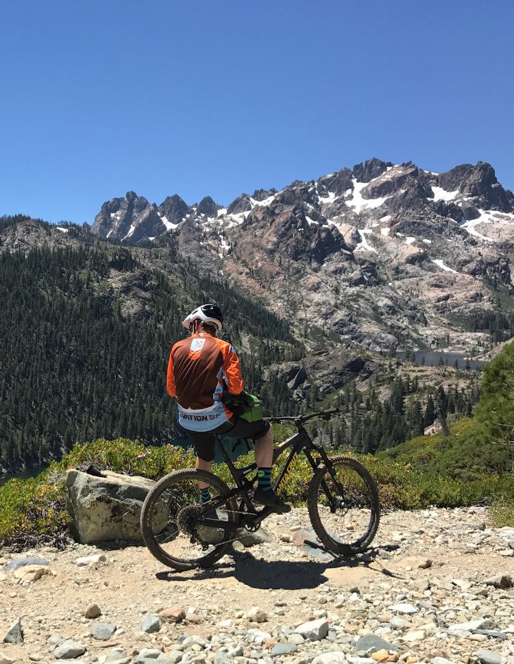 Mountain Bike Biking Lake Tahoe California