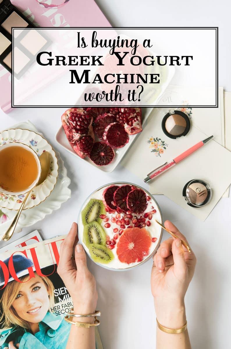 Best Greek Yogurt Maker Reviews - Homemade Greek Yogurt Recipe