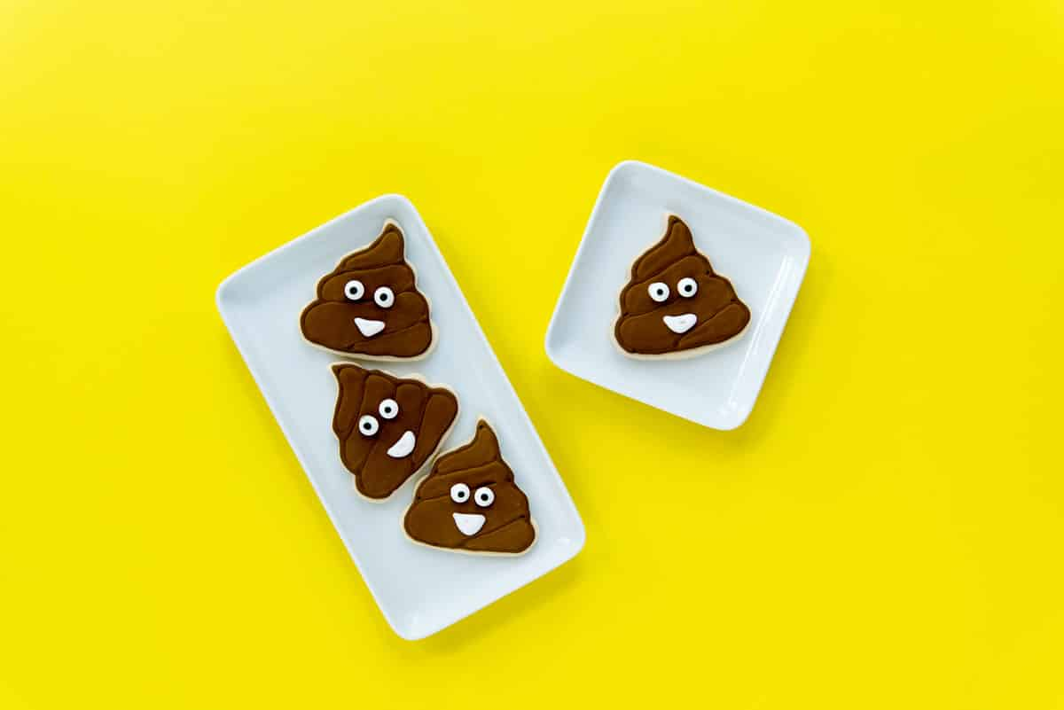 How to Make Poop Emoji Cookies - Decorate with Royal Icing
