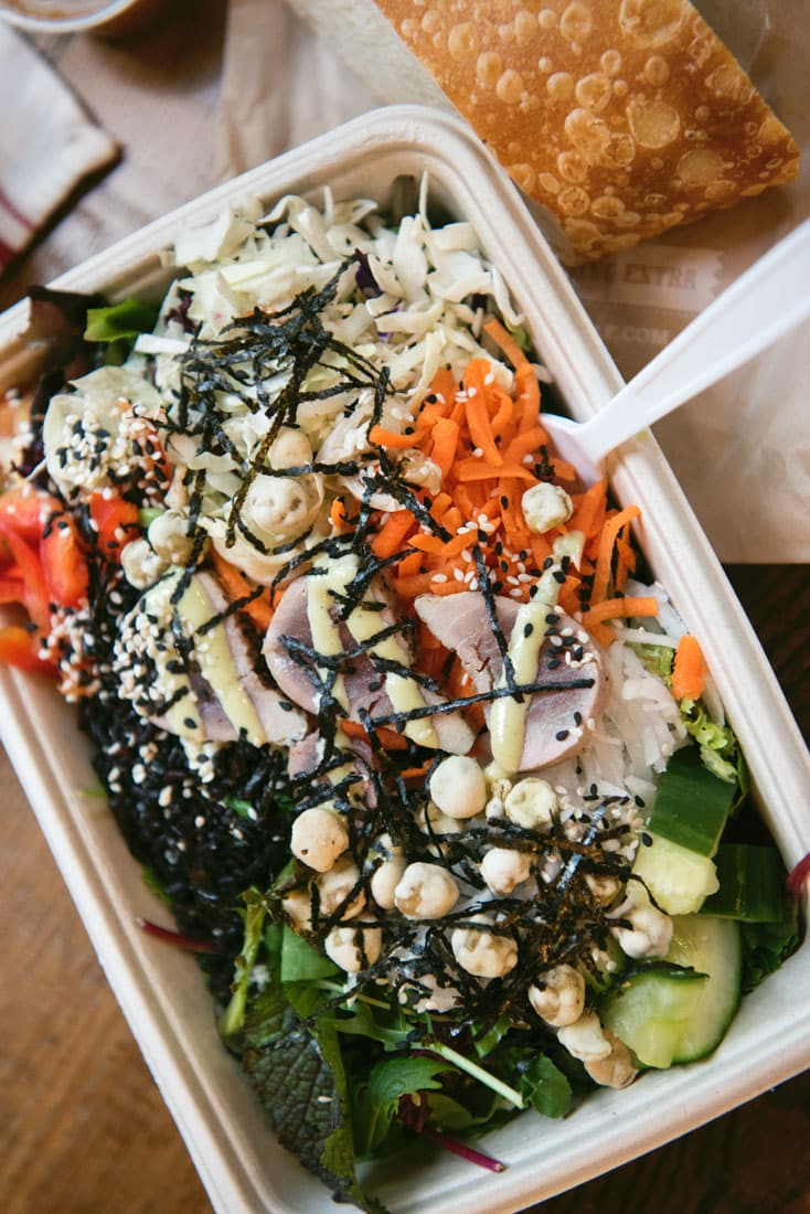 Ladle & Leaf Restaurant Review - Healthy Downtown San Francisco Lunch