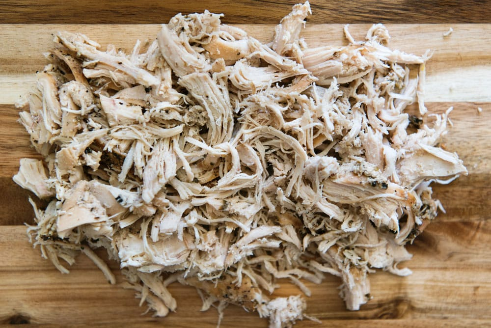 GENIUS! Make Easy Pulled or Shredded Chicken in a Crock Pot or Slow Cooker