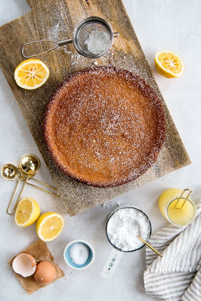 Meyer Lemon Olive Oil Cake Recipe with Infused Meyer Lemon Algae OIl