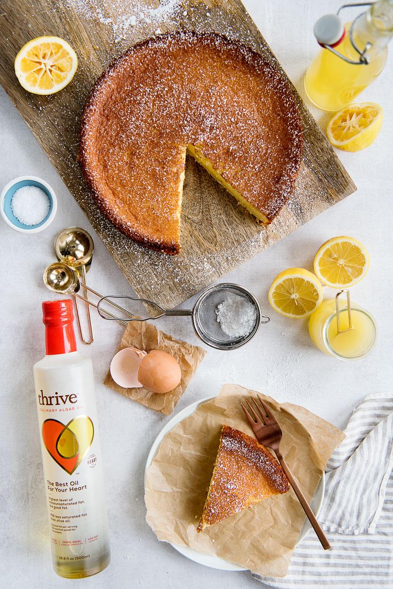 Meyer Lemon Olive Oil Cake Recipe