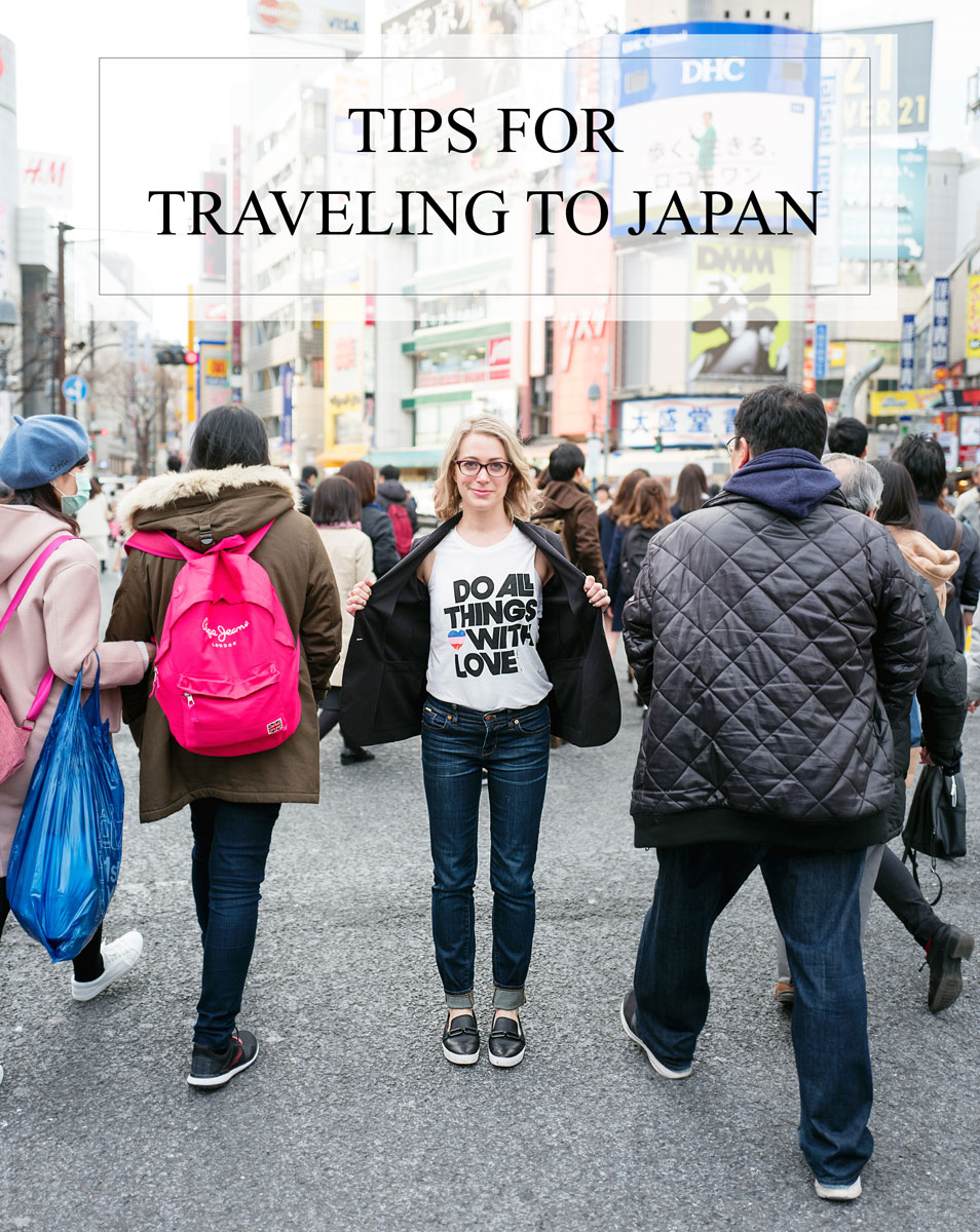 Tips for Traveling to Japan + Culture and Etiquette