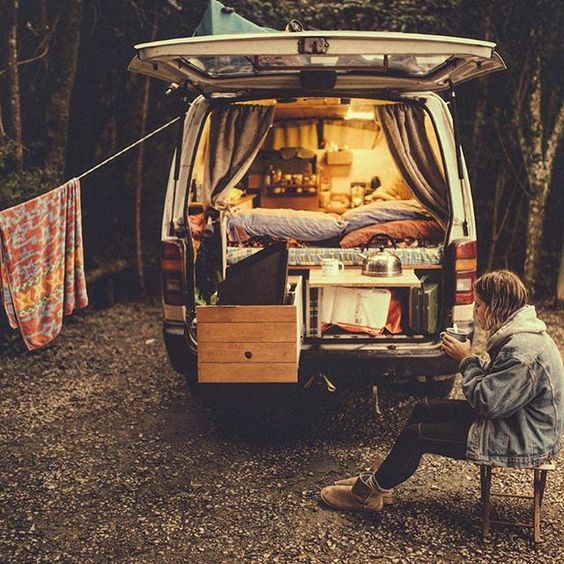 Van Life Inspiration Custom Camper Vans A Side Of Sweet