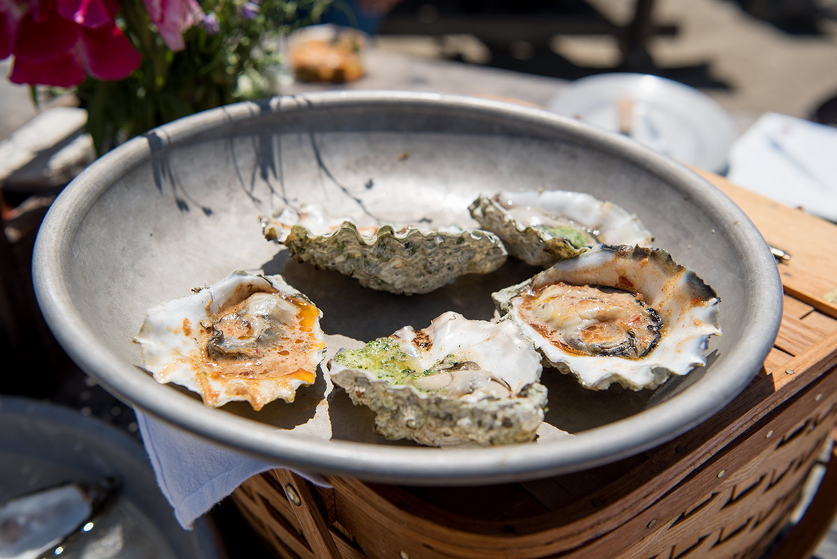 Hog Island Oyster Company Grilled Oysters Recipe