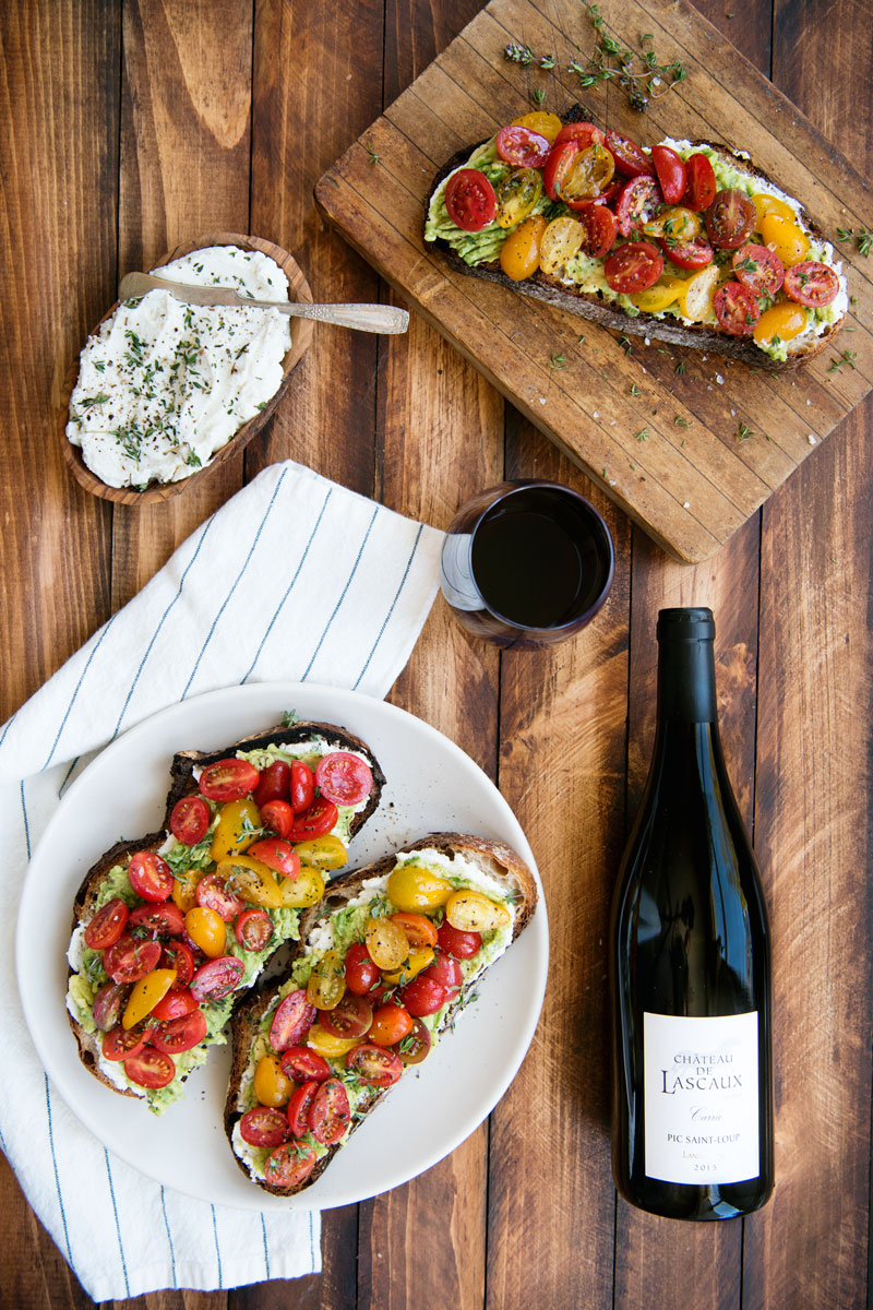 Wine Pairing for Toast and Sandwiches - Languedoc Chateau de lascaux Review