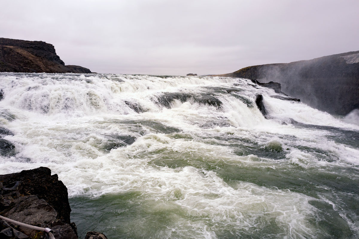Gullfoss Waterfall Iceland Golden Circle Travel