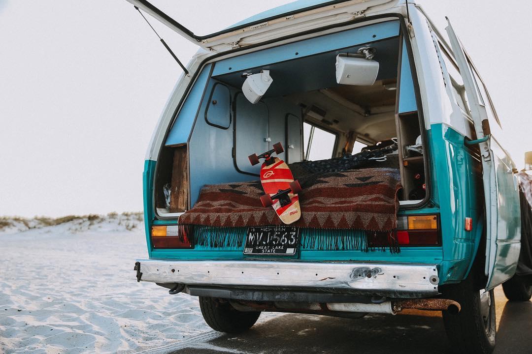 Camper Van Ideas + Van Life Travel Inspiration