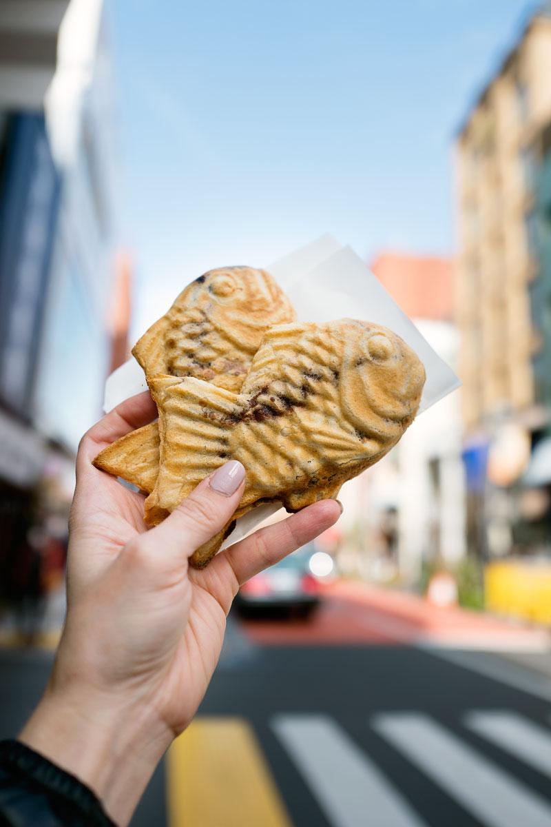 Tokyo Food & Restaurant Guide - Taiyaki Red Bean Paste
