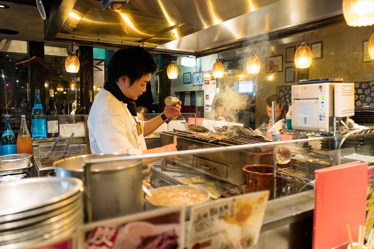 Tokyo Food & Restaurant Guide - Yakatori Ginza