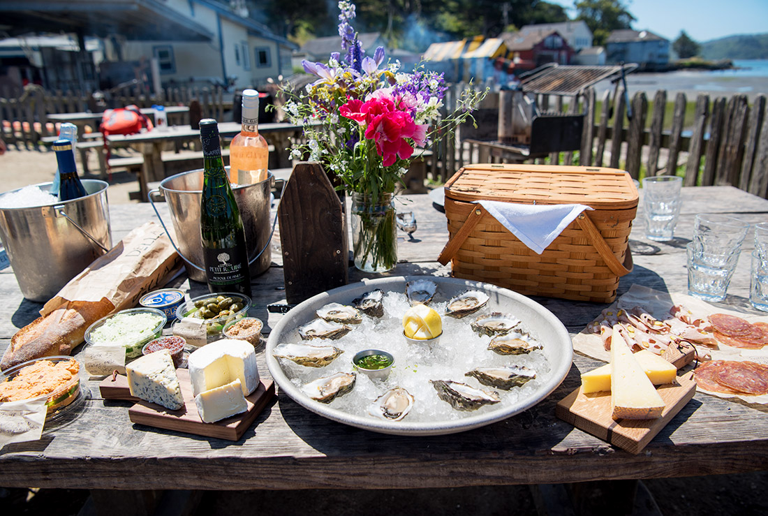 Best Weekend Getaways San Francisco - Hog Island Oyster Company Marshall, CA