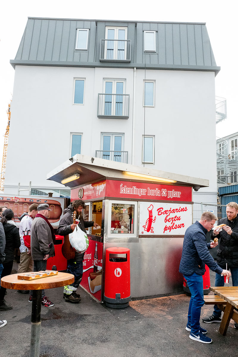 Bæjarins Beztu Pylsur Hot Dog Stand - Best Hot Dogs Iceland