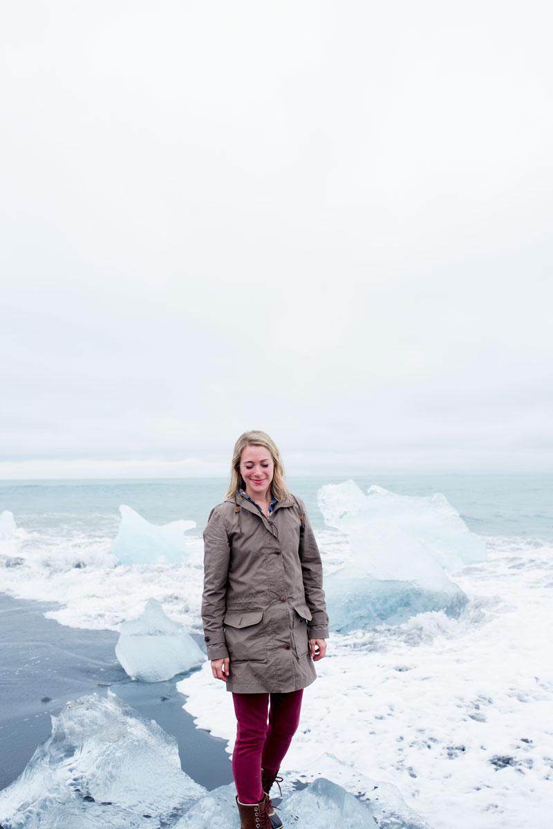 Prettiest Spots in Iceland - Diamond Beach Glacier Ice