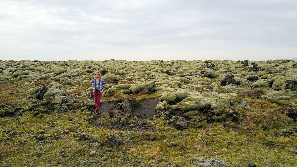Iceland Lava Fields with Moss - South Iceland Travel Guide