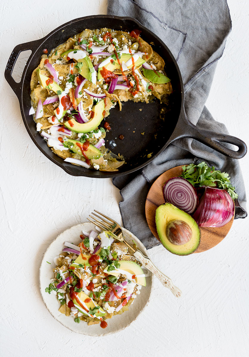 How to Make Chilaquiles Verdes - One Pot Mexican Breakfast Recipe