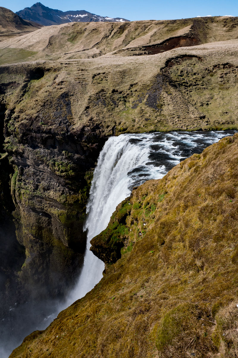 Skogafoss Waterfall - Huge Waterfall South Coast Iceland Ring Road