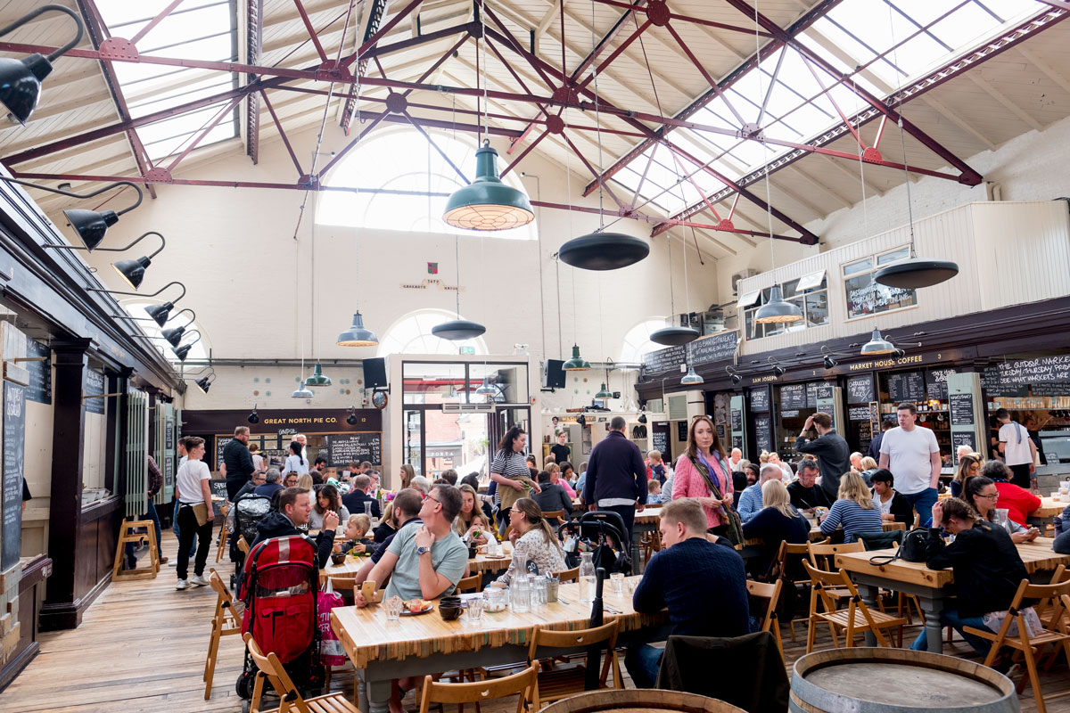 Altrincham Market House Food
