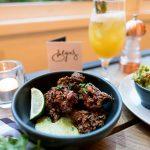 Evelyns Cafe Manchester UK Dinner Restaurant Korean Fusion