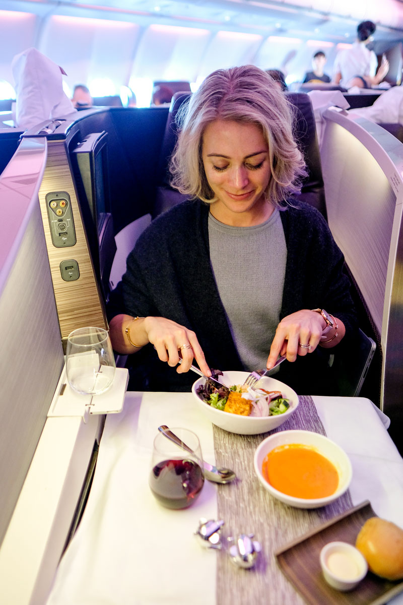Review of Virgin Atlantic Upper Class First Class Cabin