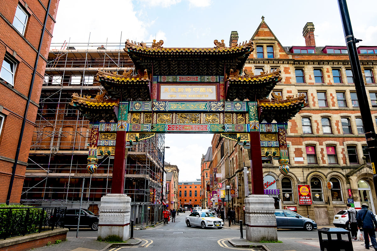 Manchester UK Chinatown Photos & Guide