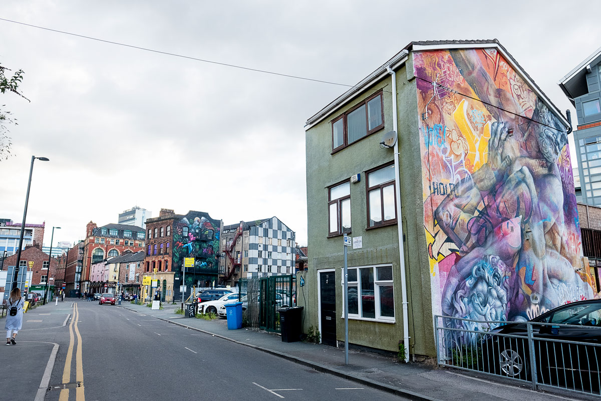 Murals & Street Art of Manchester, UK
