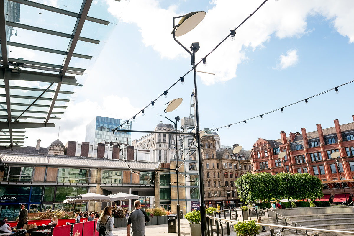 Manchester Spinningfields Restaurant and Shops for Dinner and Lunch Reviews