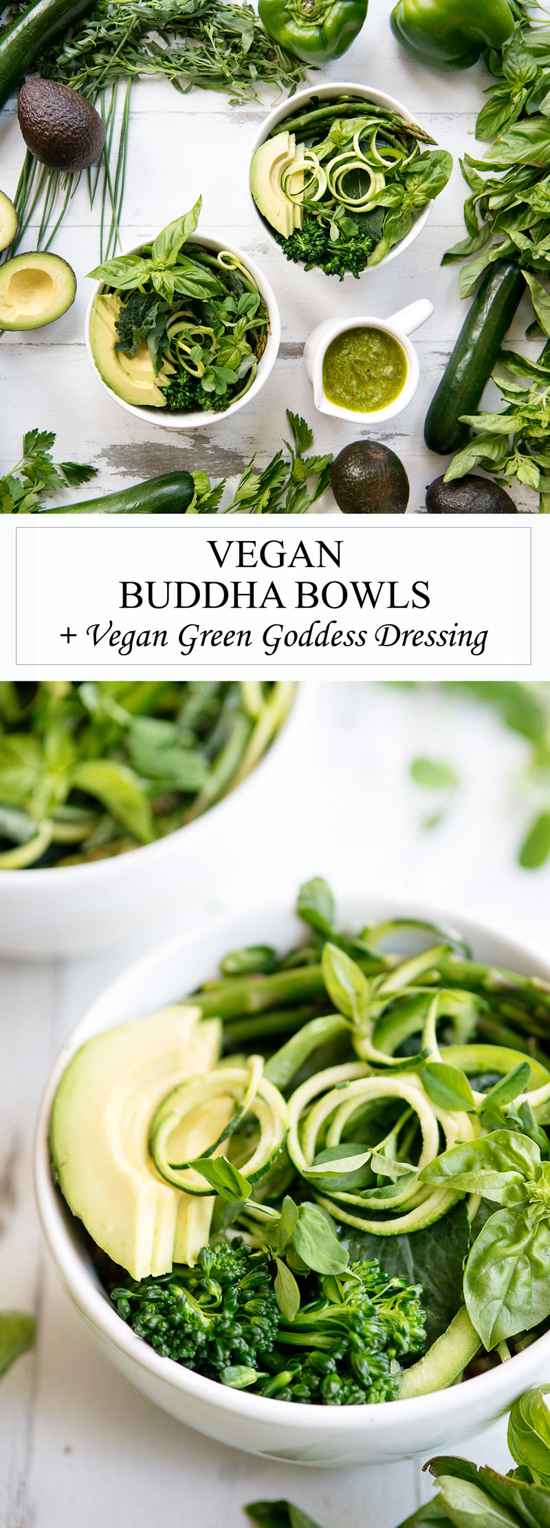Vegan Buddha Bowls Recipe with Veggies & Brown Rice