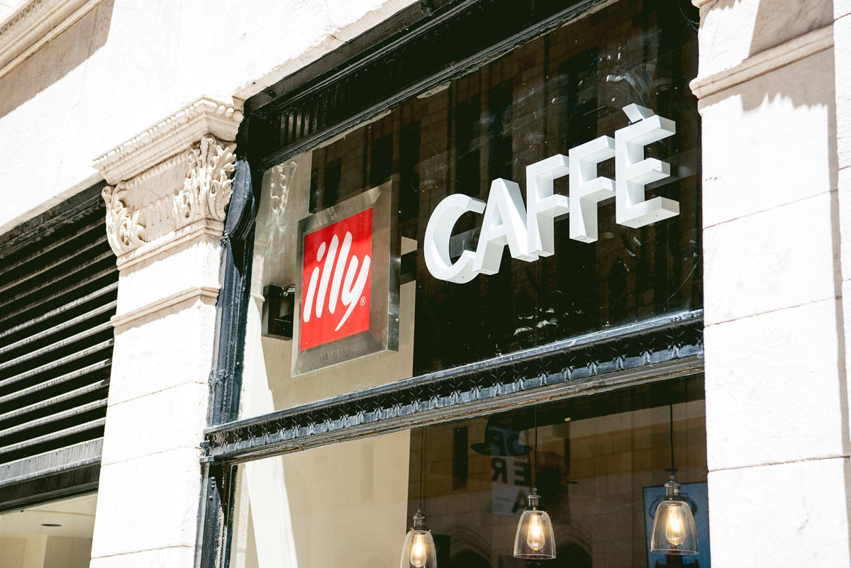 Illy Cafe Montgomery Street Downtown San Francisco - Quick lunch