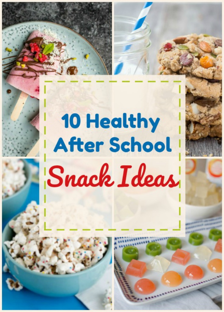 10 healthy after school snack ideas