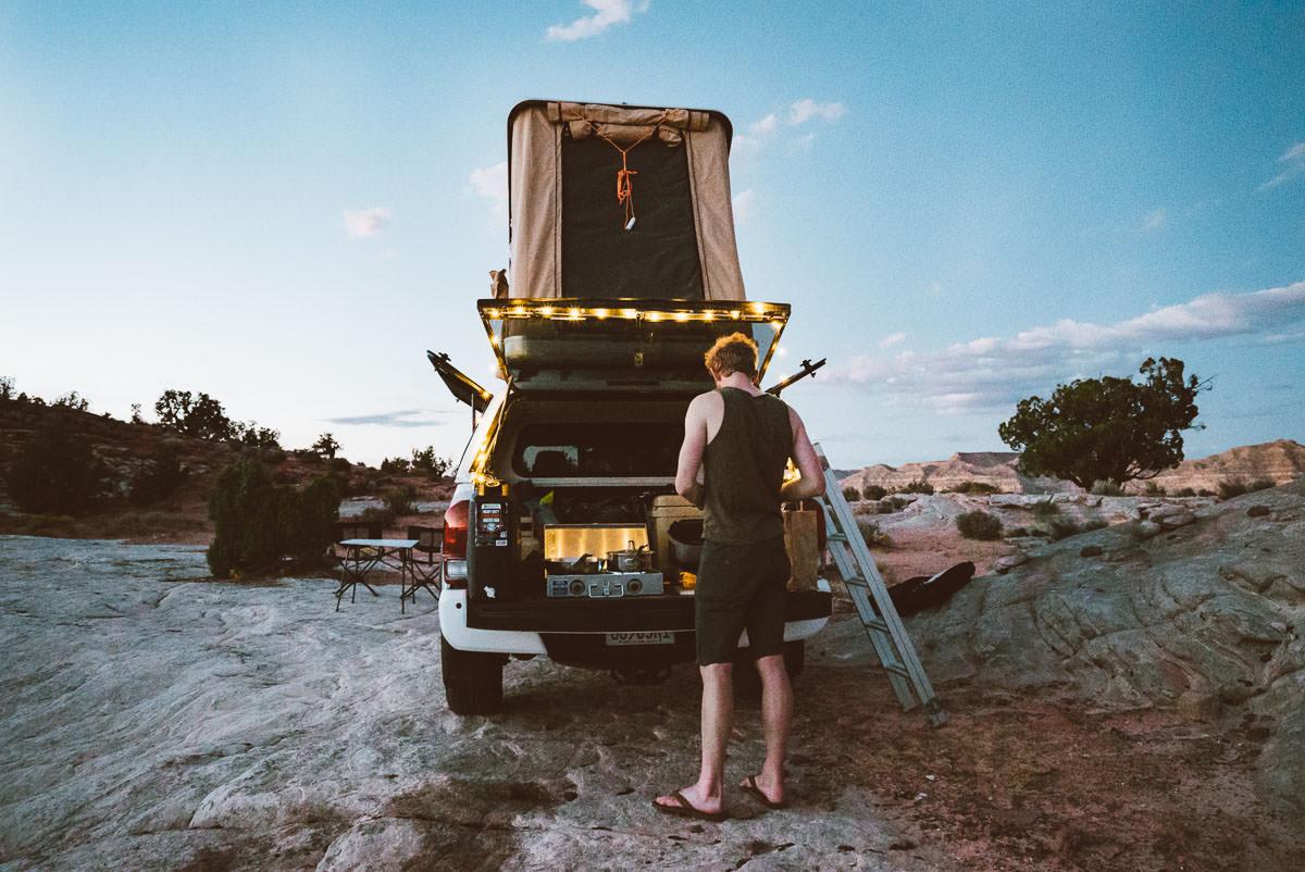 Free Off Road Camping Arizona & Utah - 4x4 Truck Camping