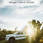 California Utah Arizona Roadtrip Itinerary Places of Interest