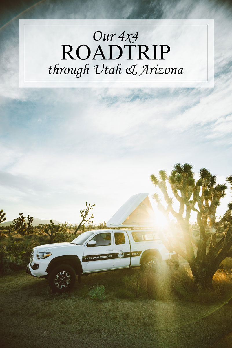 California Utah Arizona Roadtrip Itinerary Places of Interest