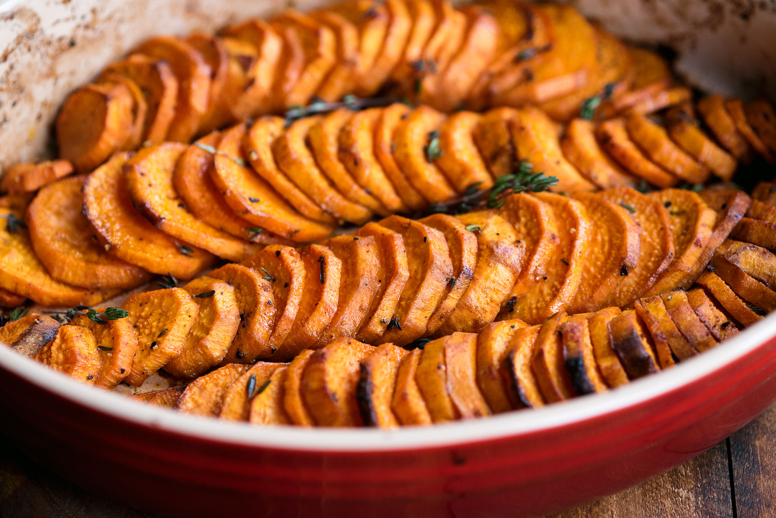 Healthy Oven Baked Sweet Potatoes A Side Of Sweet