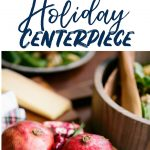 Easy Last Minute Holiday Table Centerpiece DIY