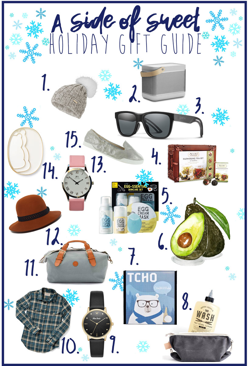 Holiday Gift Guide and Ideas for Girlfriend, Boyfriend, Sister, Best Friend and More!